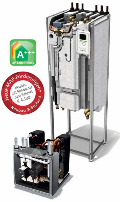 Nibe F1255 Sole/Wasser Wärmepumpe mit leistungsvariablem Verdichter