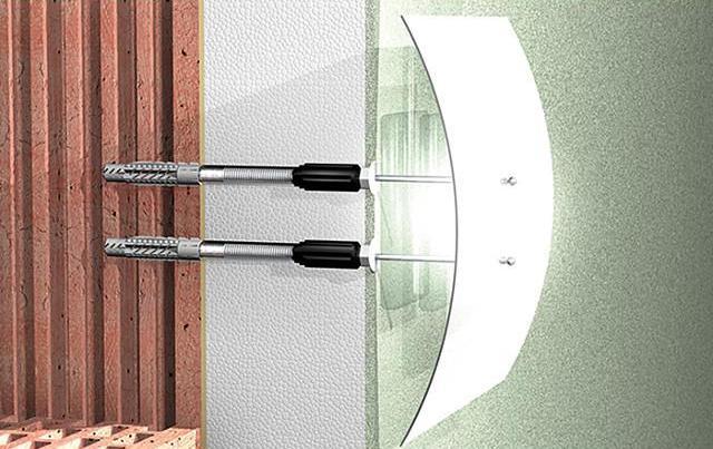 Fischer Abstandsmontagesystem Thermax 8/60 M6, 45685, VPE 20 Stück