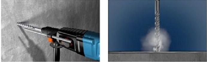 Fischer 549991 Hammerbohrer Quattric Hochleistungsbohrer | VPE 5 Stück