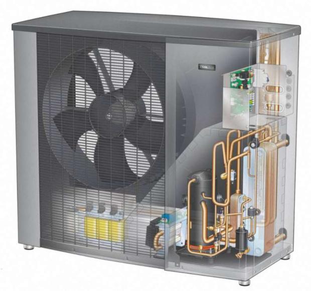 Nibe Systempakete Luft-Wasser-Wärmepumpen F2120 mit Inneneinheit VVM 320