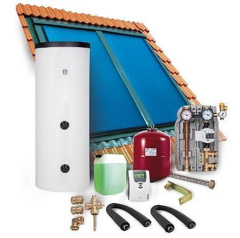 Solarpaket SX 2.0 Indachmontage 8,08m² ohne Solarspeicher