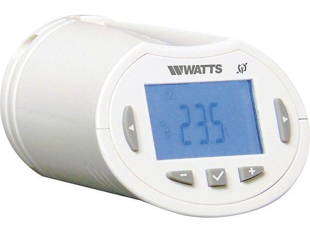 Watts Funk Heizkörperregler BT-TH02 RF - Funkregelung für Fußbodenheizungen