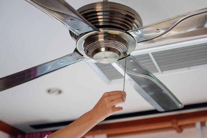 Decken-Ventilator - kann helfen, das Wohnraumklima zu verbessern