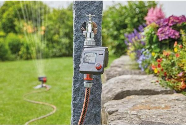 GARDENA Bewässerungssteuerung Automatik-Bewässerung Select für Gartenbewässerung