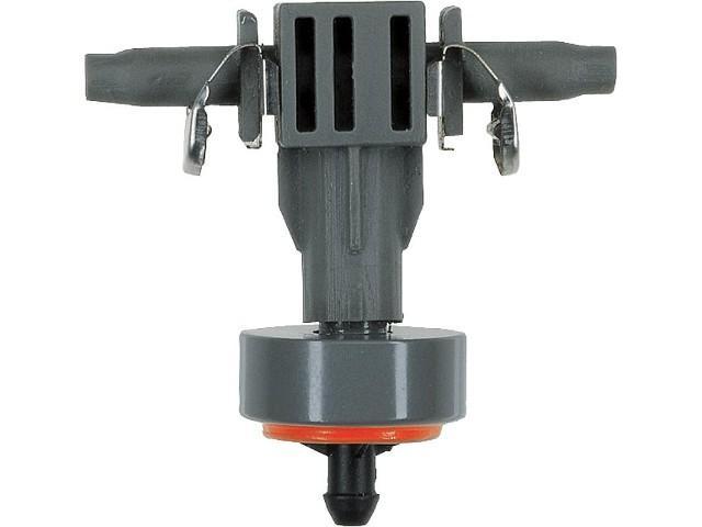 GARDENA Reihentropfer druckregulierend 10 Stück, 1 Verschlusskappe. Mit Quick&Easy-Einfachverbindungstechnik