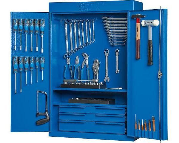 Werkzeugschrank GEDORE inkl 100-teiligen Werkzeugsatz Garage als Werkstatt