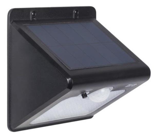 Solar-Leuchte mit PIR Sensor - wasserdicht CSOL20 Solarleuchten für den Garten