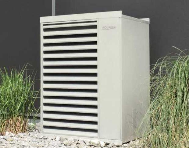 Panasonic Aquarea Design-Schutzhaube für Splitwärmepumpe 9 und 16kW 400V/2 Lüfter