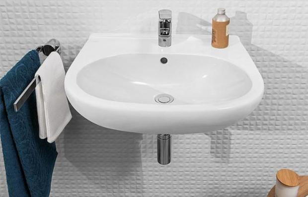 Waschtisch V&B O.Novo, 600x490mm, weiß