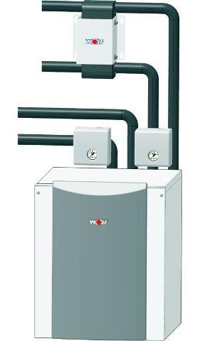 Wolf Wärmepumpe Wasser-Wasser BWW-1-11 geeignet zur Innenaufstellung