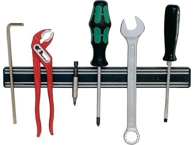 Werkzeughalter aus Kunststoff Abmit 300x33mm Farbe schwarz, 1 Stück