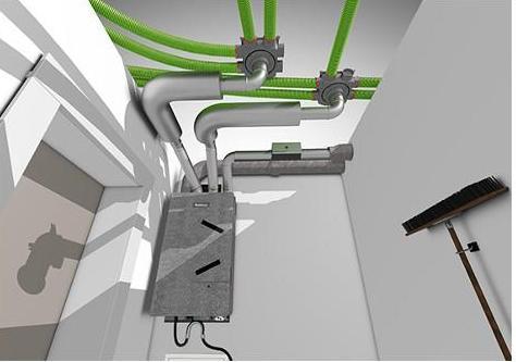 Buderus Logavent zentrale Wohnungslüftung - Wärmepumpe mit Lüftungsanlage kombinieren