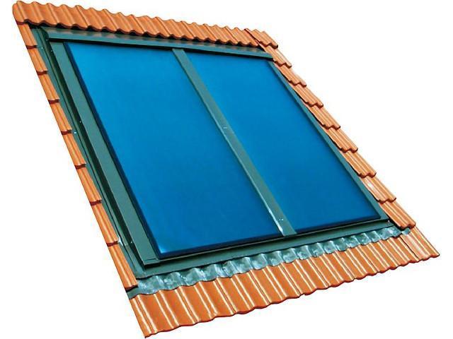 Sunex Indach-Flachkollektor Typ SX 2,85 qm