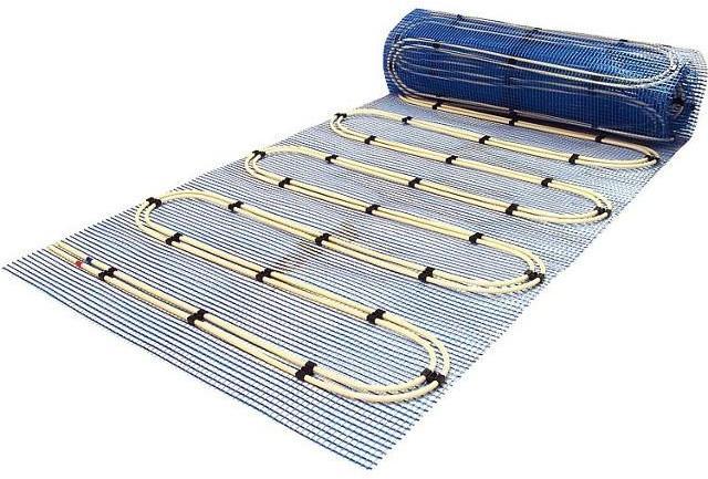 Heizmatte 5 m² (2x2, 5) Aquaheat Doppelrohrsystem