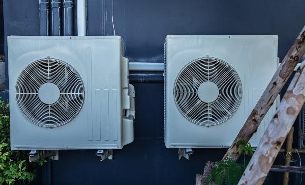 Luftwärmepumpe an Hauswand - Luftwärmepumpe Funktion