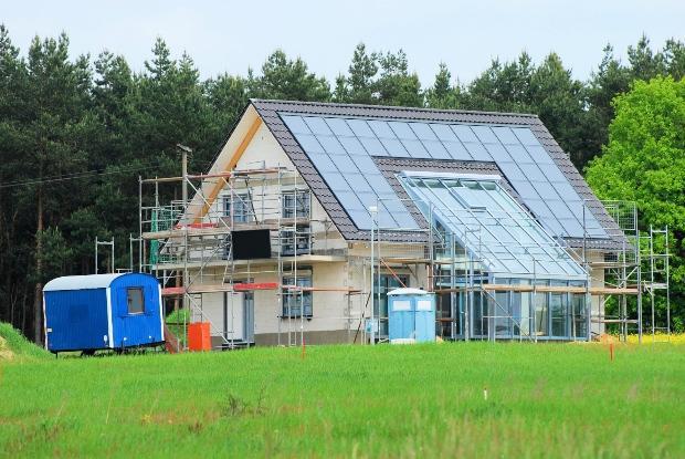 Neues Haus, Niedrigenergiehaus - Kombinierte Heizsysteme