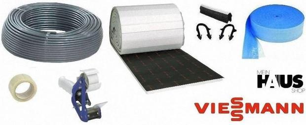 Viessmann Fußbodenheizung- Montageset mit PE-RT Rohr 150 qm