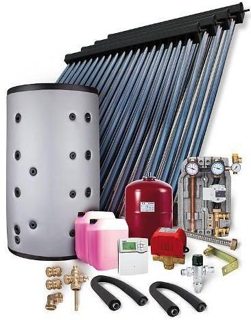 Solarpaket HP 22 Aufdachmontage 14,44m² mit Hygienespeicher 800L, 2WT - für Solarthermieheizung