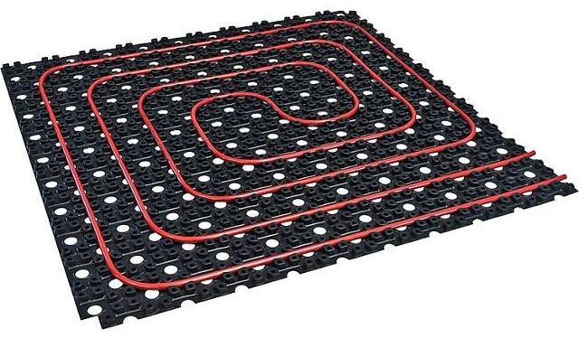 Dünnbett Warmwasser Fußbodenheizung