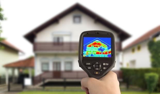 Wärmebildkamera - Wärmeeffizienz steigern