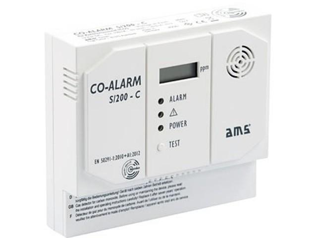 Kohlenmonoxid-Warngerät CO-Alarm S/200-C