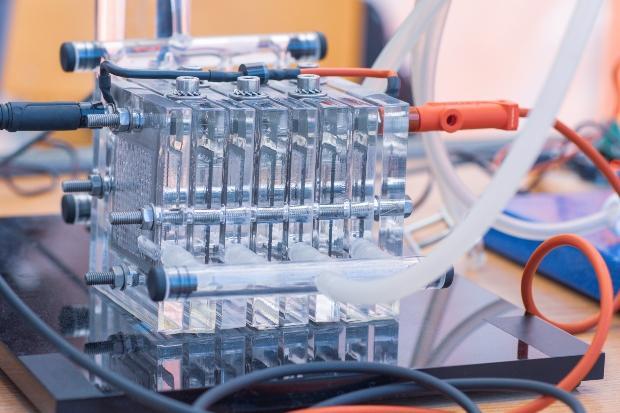 Wasserstoff-Brennstoffzelle