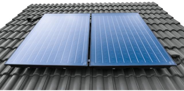 Buderus Logasol SKN4.0-w, 2,37 qm, Flachkollektor, waagerechte Montage, 8718530939 - Solaranlage