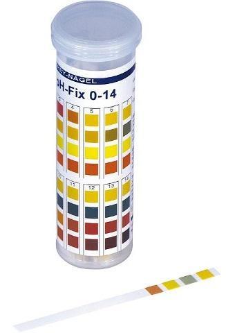 pH Indikatorstäbchen pH 0 - 14 | 100 Stäbchen