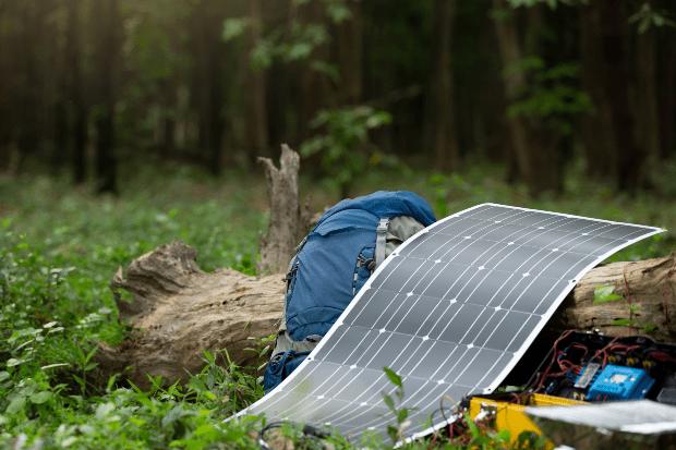 Flexibles Solarpanel