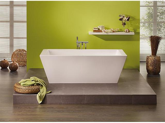 Badewanne K.ONE, BxHxT 1800x590x800 mm, freistehend - Badsanierung: Ideen und Trends