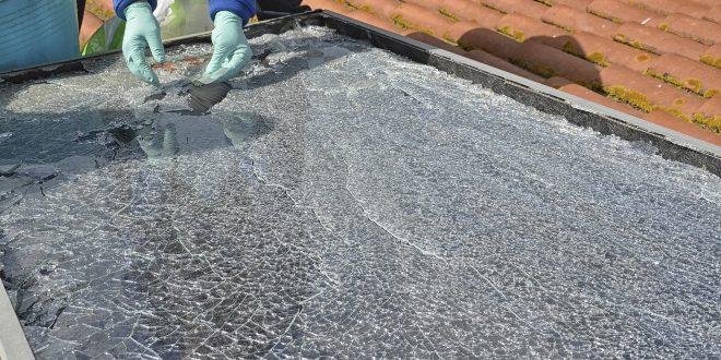 Zerstörte Solaranlage - Photovoltaik: Entsorgung