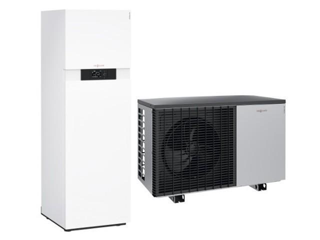 Viessmann Wärmepumpe im Monoblock 222-A , 7,5 kW, Z017616, Anschluss-Set oben
