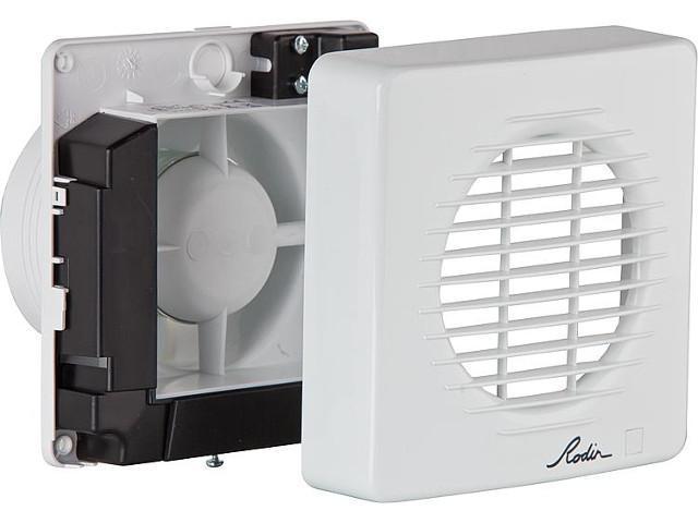 Wohnraum-Ventilator Typ HEF-100 T Einbau in Rohre/Schächte NW100