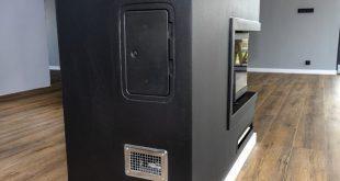 Moderner Kamin - Warmluftverteilung in andere Räume