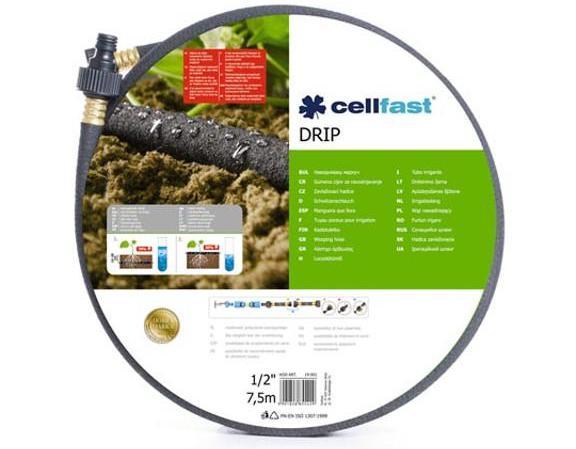 """Cellfast 19-001 Tropfbewässerungsschlauch - 1/2"""" - 7,5 m"""