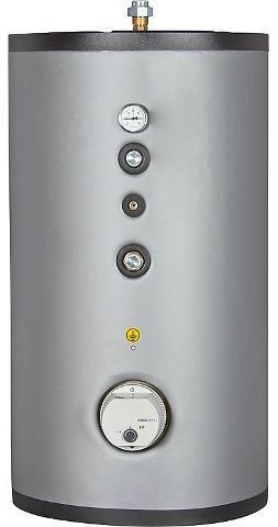 Warmwasserspeicher SFI 400 Edelstahl, mit einem Wärmetauscher, Inhalt 414 Liter