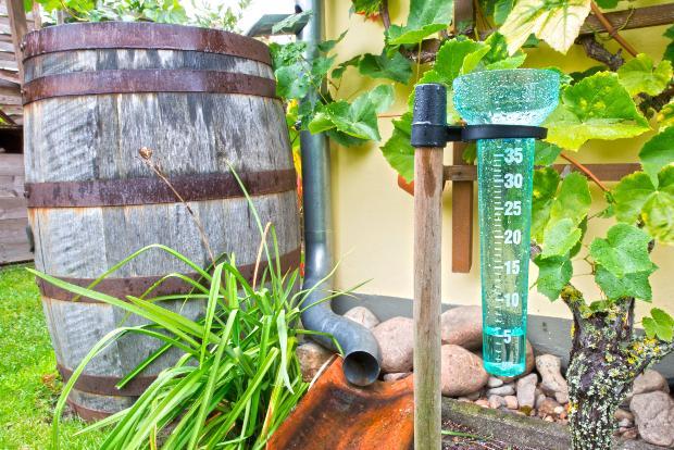 Vorrichtung zur Messung der Niederschlagsmenge