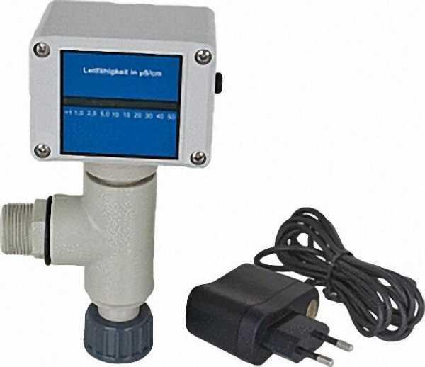 LEYCOpure Leitfähigkeits- Messgerät lfm 100 LED mit PP-Adapter