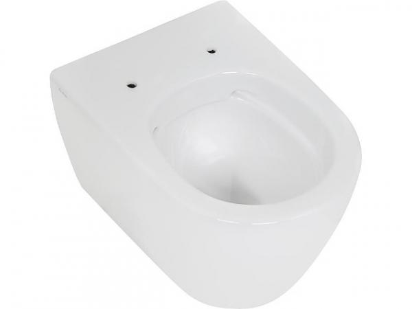 Wand-Tiefspül-WC Fusion Compact spülrandlos, weiß, BxHxT 355x330x485mm