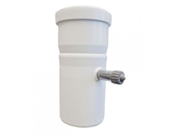 TTC Abgas Messelement/Kesselanschluss mit Variostopfen, DN 80 mm