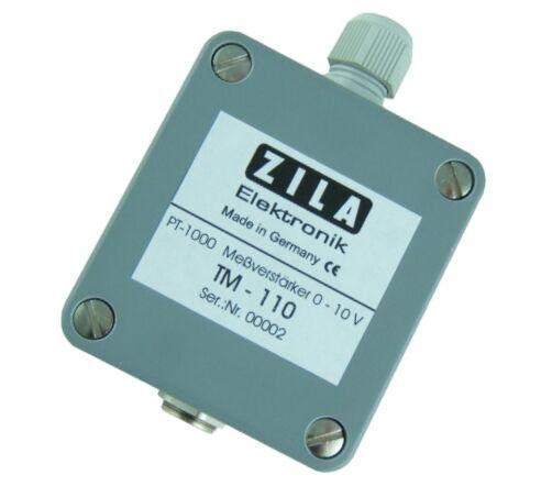 ZILA Messverstärker TM-110 für Pt100/Pt1000 - Sensoren
