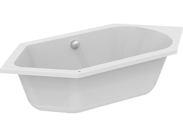 Sechseck-badewanne ESTON BxHxT:1900x465x900mm, Inhalt: 260l, Acryl