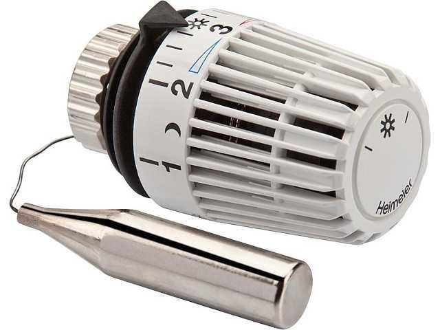 6002-00.500 Thermostat-Kopf K mit Fernfühler 2m weiß