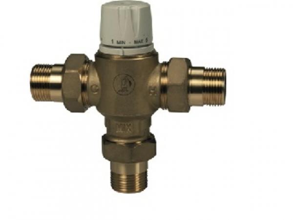 Giacomini R156-2 Thermostatischer Brauchwassermischer für den Einsatz in Sanitärinstallationen und S