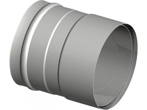 Doppeltes Wandfutter Rauchrohr D 150 max. Wanddicke 2,0mm