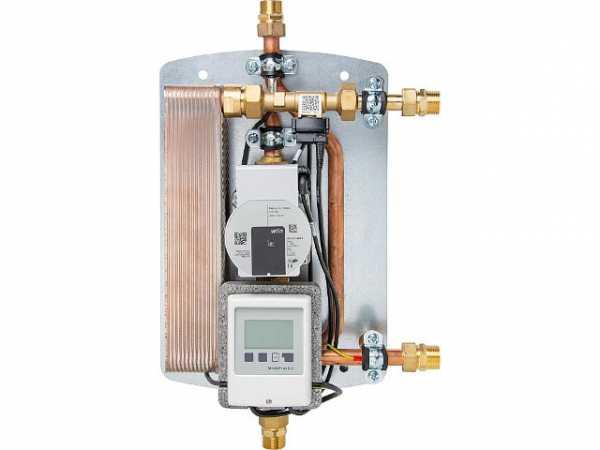 Frischwasserstation Easyflow-Fresh 2 HE CircControl 50 KW, 2 - 20*