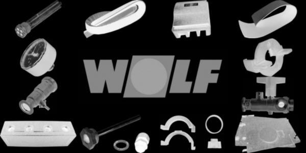 WOLF 2796360 Klemmkasten Grundplatte