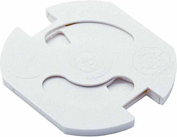 Steckdosenschutz zum Einkleben, weiß VPE 5 Stück
