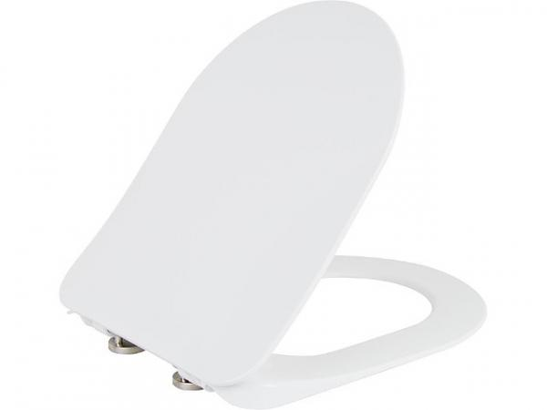WC-Sitz Elanda mit Softclose aus Duroplast, weiß