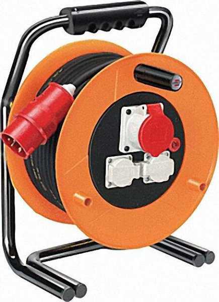 Kabeltrommel Typ Brobusta CEE 1 IP 44 Kabellänge=30m D=320mm